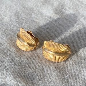 Authentic Vintage Dior Clip-on Earrings